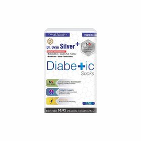 Dr. Oxyn Silver Plus Socks - Diabetic Care Socks - Pain Relief Socks - Health Socks