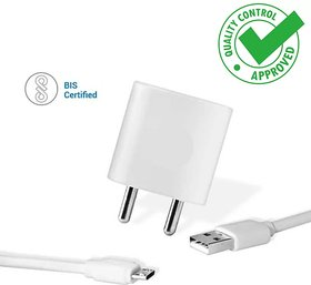 Huawei Honor 7A, Honor 9N, Honor 8C, Honor 7C Compatible Hi Speed Fast Charge with 1.2m Micro USB Cable (2 Amp, White)