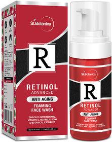 StBotanica Retinol Anti Aging Foaming Face Wash, 120 ml
