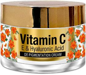 StBotanica Vitamin C, E  Hyaluronic Acid DePigmentation Cream, 50g