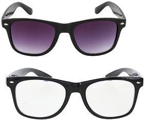 (104+106) Adam jones Anti glare lens Wayfarer Sunglasses for Men