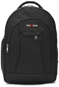 LeeRooy,Backpack, in Laptop Bag, School Bag,Casual Bag,College Bag Office Bag for Men Women and Children (BG3BLACK)