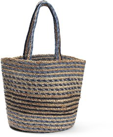 Tiara Jute Bag With Cotton Yarn