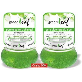 Green Leaf Pure Aloe Skin Gel 120 g Combo