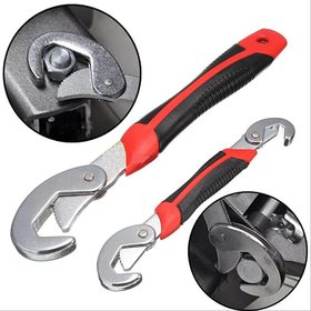 Universal Red Snap N Grip 9-32 mm Iron 9mm to 32mm mm Double Sided Adjustable Wrench