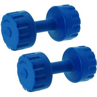 GENERIC PVC Dumbbell (5KG X 2 PC10KG) for Gym Exercise