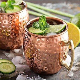 Mule Copper Copper Mug  (500 ml)
