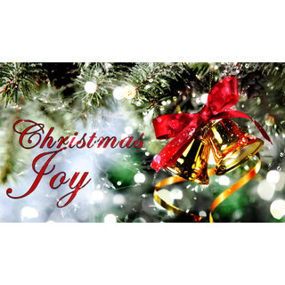 christmas joy Sticker Poster|Christmas poster|size:12x8 inch |Sticker Paper Poster, 12x18 Inch
