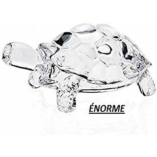 norme Lucky Feng Shui Vastu Crystal Turtle 9 Cm Pack Of 2