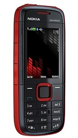 Nokia 5130 Mobile Phone Red Black