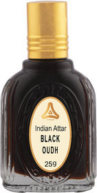 Al-Hayat - Black Oudh - Concentrated Perfume - 25 ml