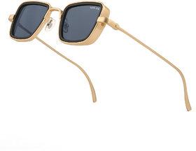 Royal Son UV Protected Black Unisex Sunglasses For Men Women - Latest Stylish Kabir Singh Sunglasses