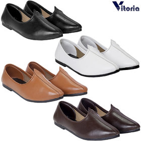 Vitoria Stylish Jutti Combo For Men And Boys (Pack Of 4)