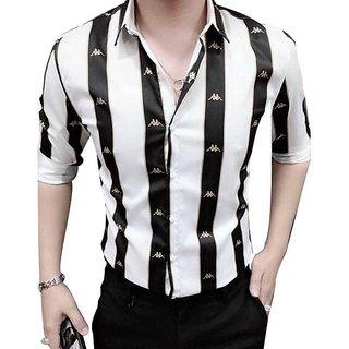 China Print Black Line Shirt