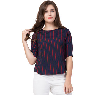 3/4th Sleeves Casual Top by Jolify