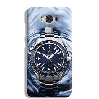 PrintVisa Watch Ghadi Time Samay Designer Printed Hard Back Case For Asus Zenfone 3 Max ZC 553KL - Multicolor