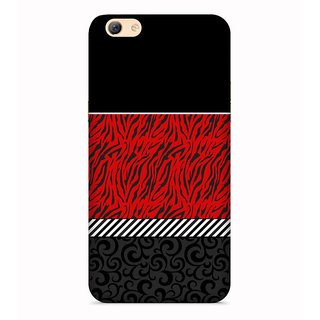 PrintVisa Multicolor Multipattern Designer Printed Hard Back Case For Oppo A71 - Multicolor