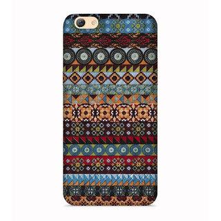 PrintVisa Multicolor Multipattern Ethnic Umbrella Designer Printed Hard Back Case For Oppo A83 - Multicolor