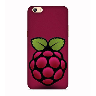 PrintVisa Fruits Tasty Purple Berry Designer Printed Hard Back Case For Vivo Y66 - Multicolor