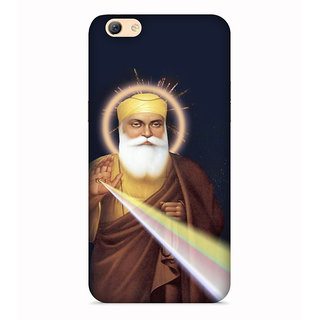 PrintVisa Guru Nanak Sant Designer Printed Hard Back Case For Vivo Y66 - Multicolor