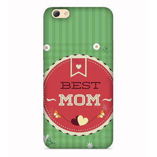 PrintVisa Best Mom In The World Messages Designer Printed Hard Back Case For Vivo V5s - Multicolor
