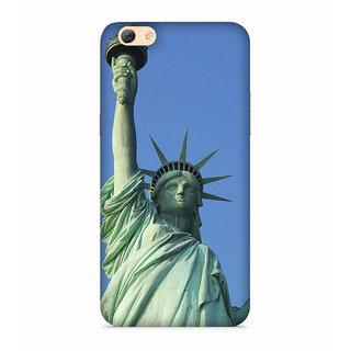 PrintVisa Satue Of Liberty New York NY Usa Designer Printed Hard Back Case For Vivo V5s - Multicolor