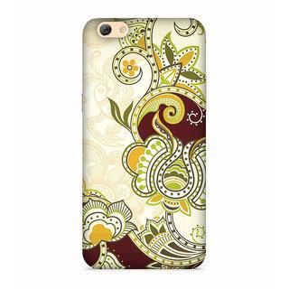 PrintVisa Floral Pattern Design Designer Printed Hard Back Case For Vivo Y66 - Multicolor