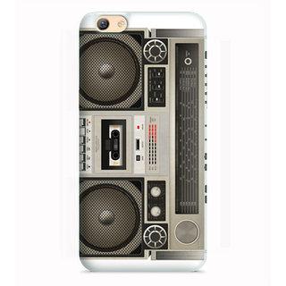 PrintVisa Tape Recorder Image With Woofers Designer Printed Hard Back Case Cover For Vivo Y53 - Multicolor