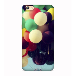 PrintVisa Ballons Air Gubbara Hawa Designer Printed Hard Back Case For Vivo Y66 - Multicolor