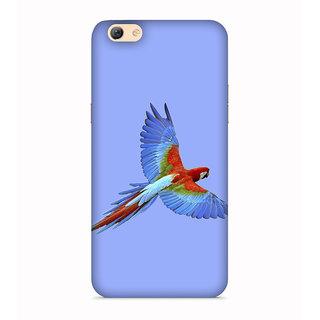 PrintVisa Animal Bird Multi Color Parrot Mitthu Popat Designer Printed Hard Back Case For Vivo Y66 - Multicolor