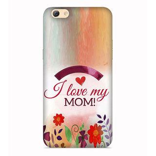 PrintVisa Home Mom Love Find Emotions Child Floral Designer Printed Hard Back Case For Vivo Y66 - Multicolor