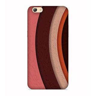 PrintVisa Curves Color Colorful Patterns Dedsigns Designer Printed Hard Back Case For Vivo Y66 - Multicolor