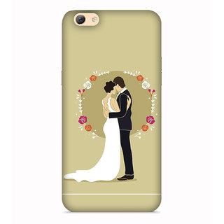 PrintVisa Love Couple Umbrella Designer Printed Hard Back Case For Vivo X5 Pro - Multicolor