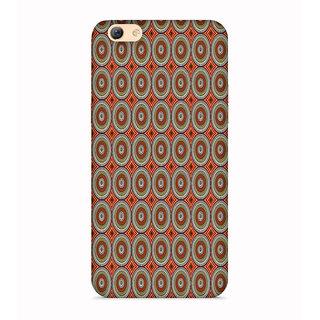 PrintVisa Multicolor Ethnic Design Designer Printed Hard Back Case For Vivo Y71 - Multicolor