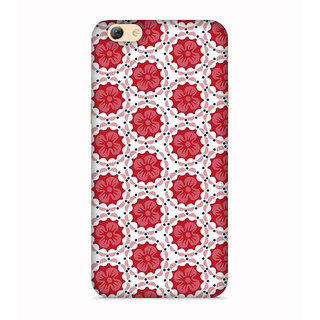 PrintVisa Circles Colorful Pattern Beautiful Designer Printed Hard Back Case For Vivo X5 Pro - Multicolor