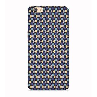 PrintVisa Multicolor Dot Pattern Designer Printed Hard Back Case For Vivo Y71 - Multicolor