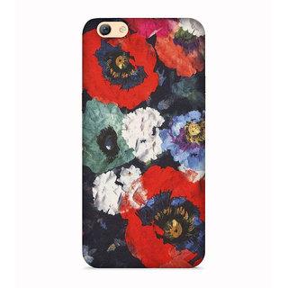 PrintVisa Flowers Theme Floral Love Lovely Gift Designer Printed Hard Back Case For Vivo Y71 - Multicolor