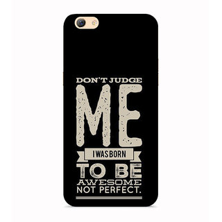 PrintVisa I Dont Have Attitude Problem Personality You Handle Mobile Cover Designer Printed Hard Back Case For Vivo Y55s - Multicolor