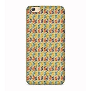 PrintVisa Multicolor Ethnic Design Designer Printed Hard Back Case For Vivo Y69 - Multicolor