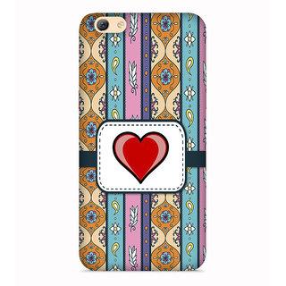 PrintVisa Love Quote Floral Multicolor Pattern Designer Printed Hard Back Case For Vivo Y71 - Multicolor