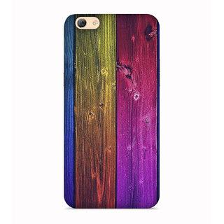 PrintVisa Wood Plant Trees Multi Color Beautiful Designer Printed Hard Back Case For Vivo Y71 - Multicolor