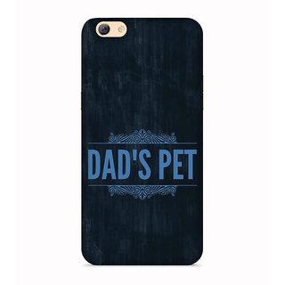 PrintVisa Dad Son Boy Message Father Designer Printed Hard Back Case For Vivo Y69 - Multicolor