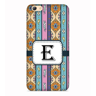 PrintVisa Floral Pattern Design Alphabet E Designer Printed Hard Back Case For Redmi Y1 Lite - Multicolor