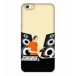 PrintVisa Music Room Speaker Man Designer Printed Hard Back Case For Vivo Y71 - Multicolor