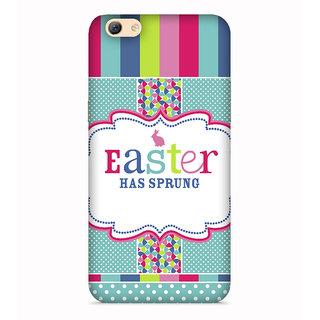 PrintVisa Easter Occasssion Tree Spring Designer Printed Hard Back Case For Vivo Y69 - Multicolor