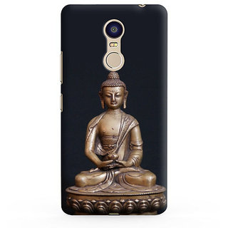 PrintVisa Buddha Buddhism Designer Printed Hard Back Case For Redmi Note 5 - Multicolor