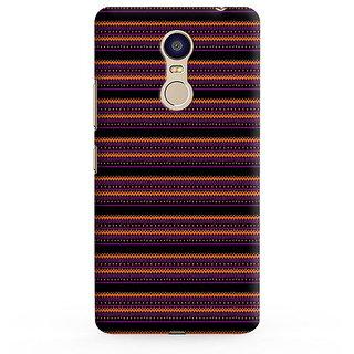 PrintVisa Multicolor Line Ethnic Design Designer Printed Hard Back Case For Redmi Note 5 - Multicolor