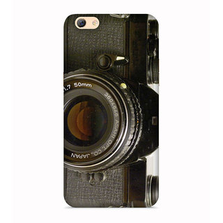 PrintVisa Camera PhoTo Picture Pic DSLR Designer Printed Hard Back Case For Redmi Y1 Lite - Multicolor