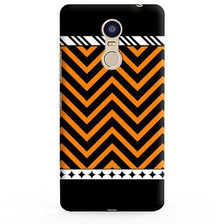 PrintVisa Multicolor Multipattern Zigzag Designer Printed Hard Back Case For Redmi Note 4 - Multicolor