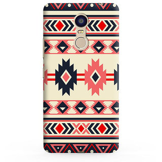 PrintVisa Multicolor Ethnic Design I Love Dad Designer Printed Hard Back Case For Redmi Note 4 - Multicolor